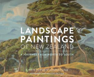 Landscape paintings of New Zealand by Christopher Johnstone (featuring Douglas MacDiarmid)