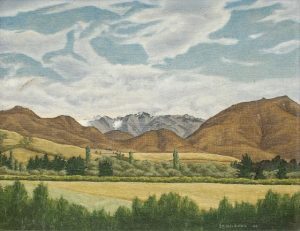 Hills from Annat (1946) by Douglas MacDiarmid