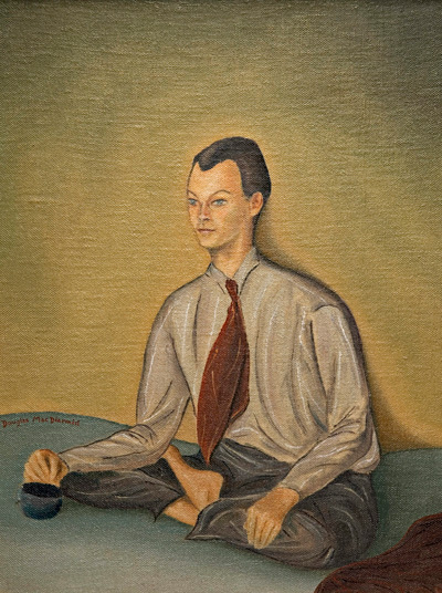 Portrait of Theo Schoon (1944) by Douglas MacDiarmid. Collection of the Christchurch Art Gallery.