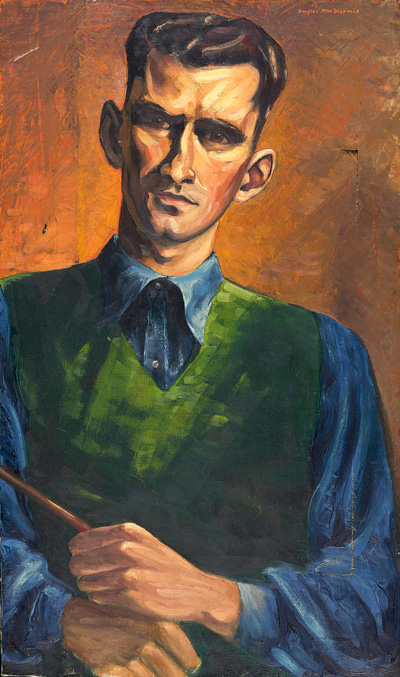 Self-Portrait (1949-50) by Douglas MacDiarmid